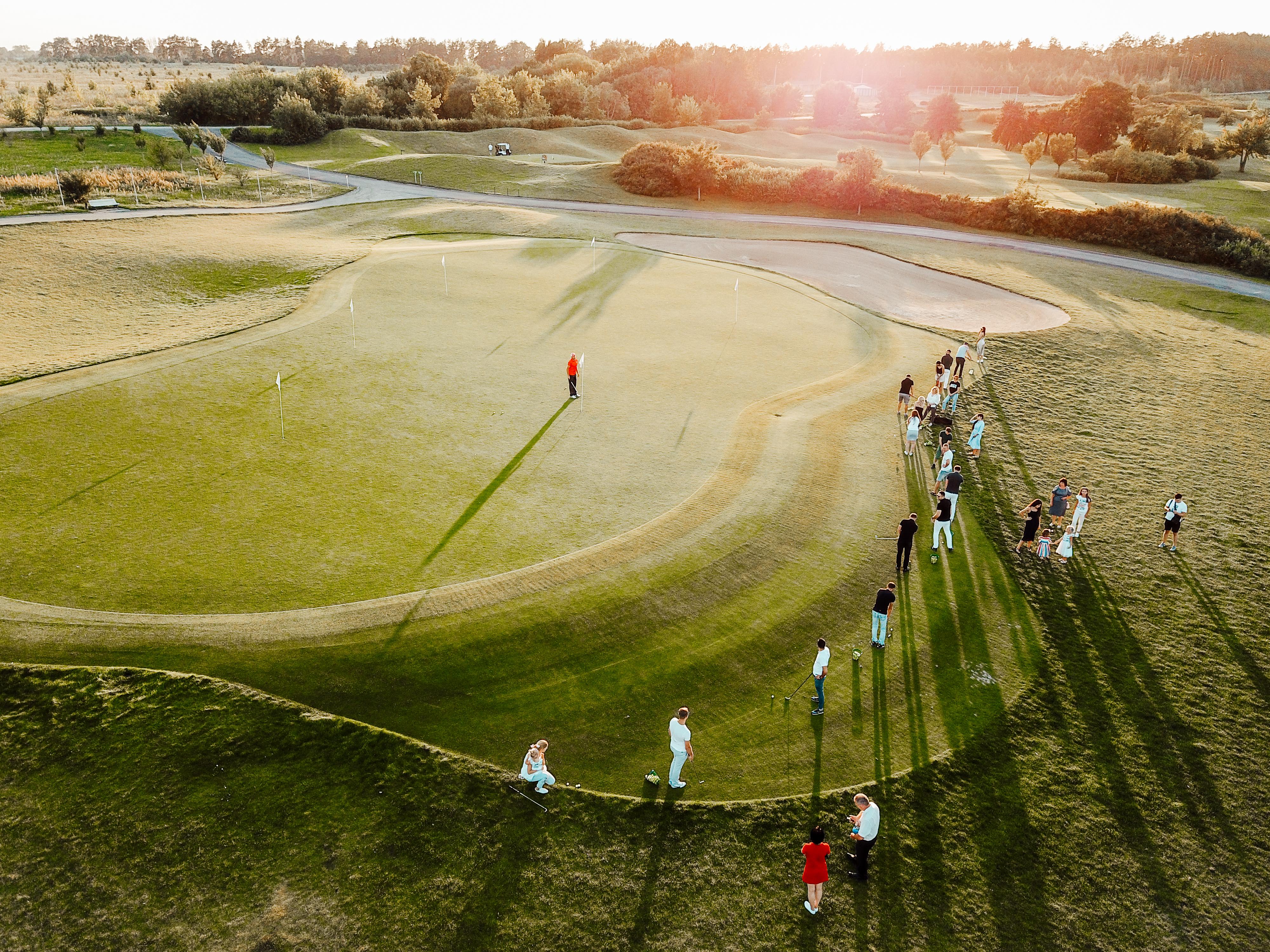 ГольфСтрім golf village гольф-турнір івент гольф