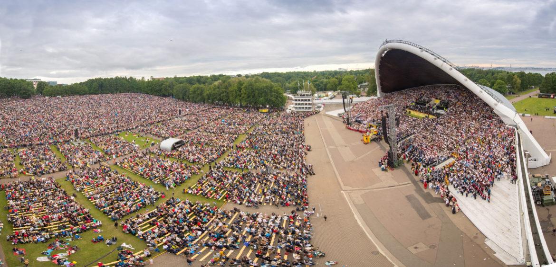 співоче свято фестиваль танцю таллін подія