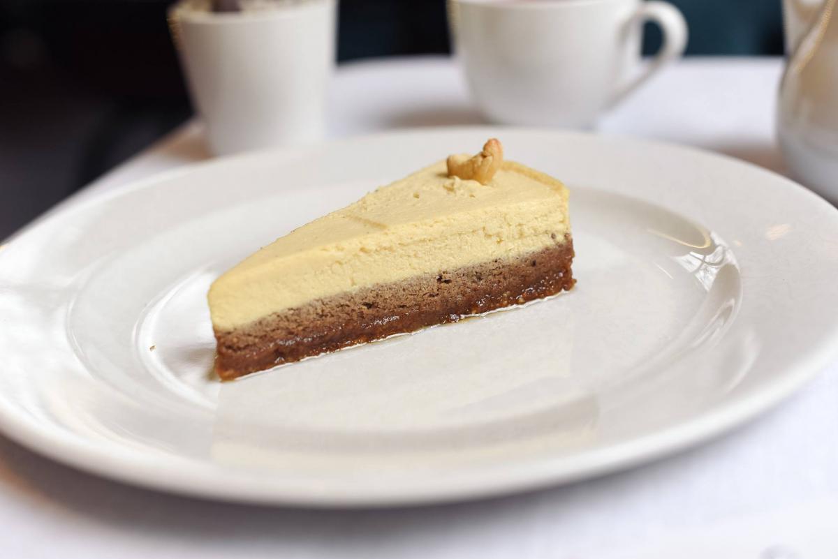 Суперфуд-десерт «кероб-маракуйя»