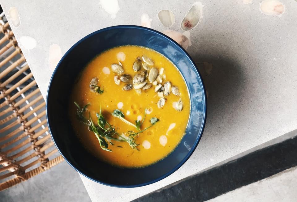 суп із тикви
