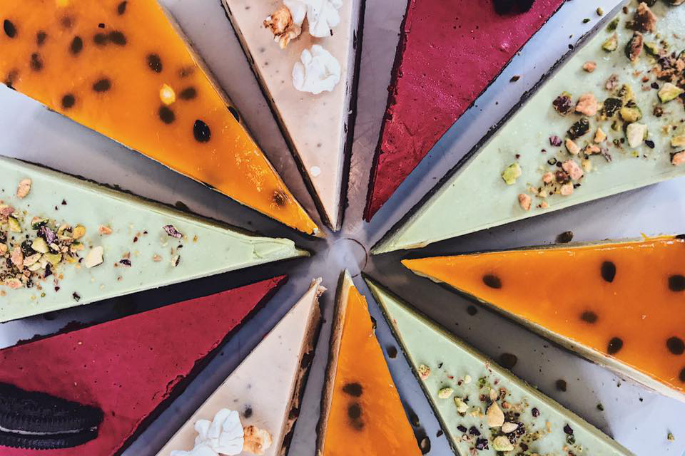 різні види тортів