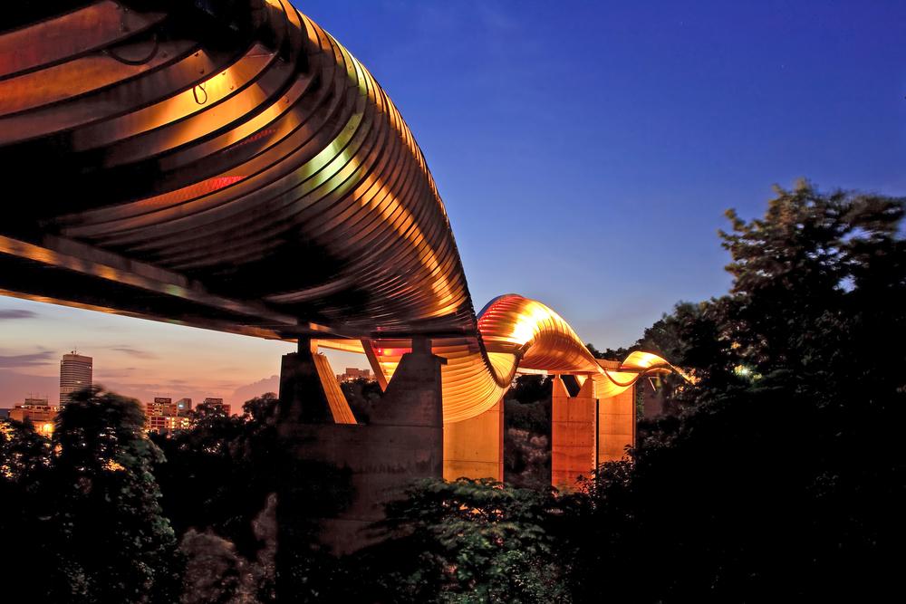 Міст «Хвилі Хендерсона», Сингапур