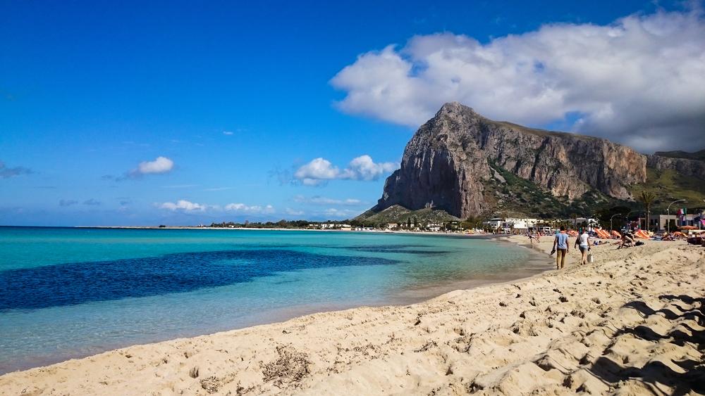 сицилія італія пляж курорт пісок