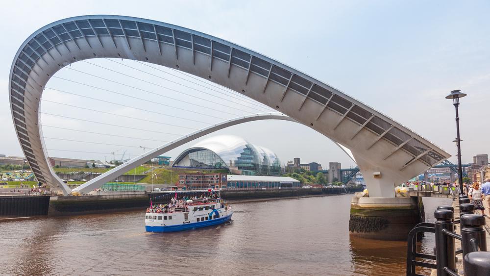 Міст тисячоліття, Гейтсхед, Англія
