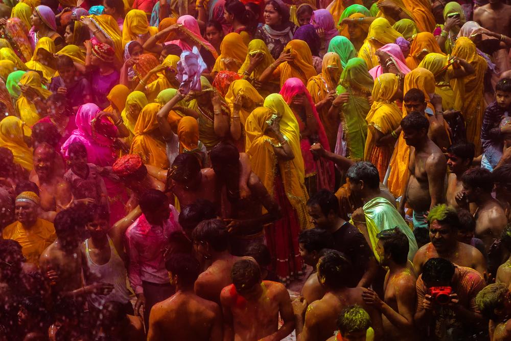 Фестиваль барв Холі, Мумбаї, Індія
