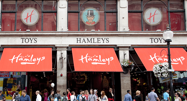 Hamleys, Лондон, Великобританія