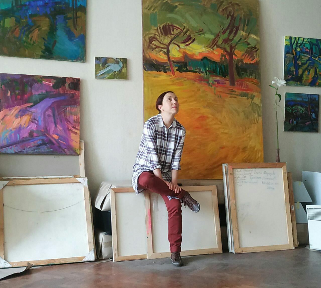 художниця виставка