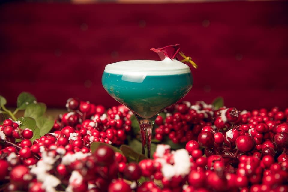 блакитний коктейль