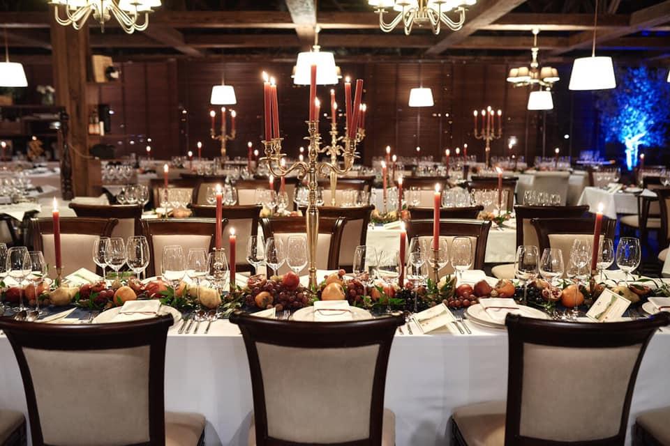 банкетний зал ресторану Vino e Cucina. Ristorante/Enoteсa