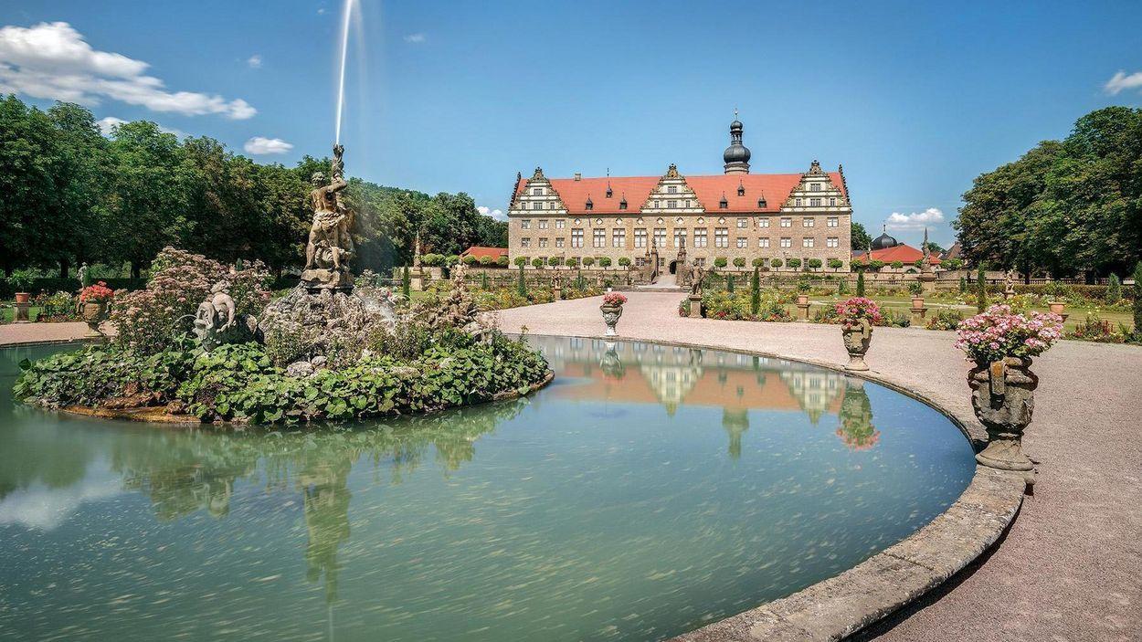 фонтан в Вайкерсхаймі, Weikersheim