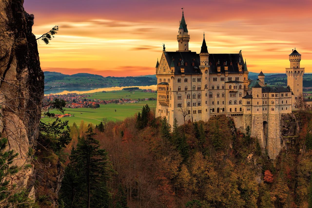 замок в Швангау (Schwangau)