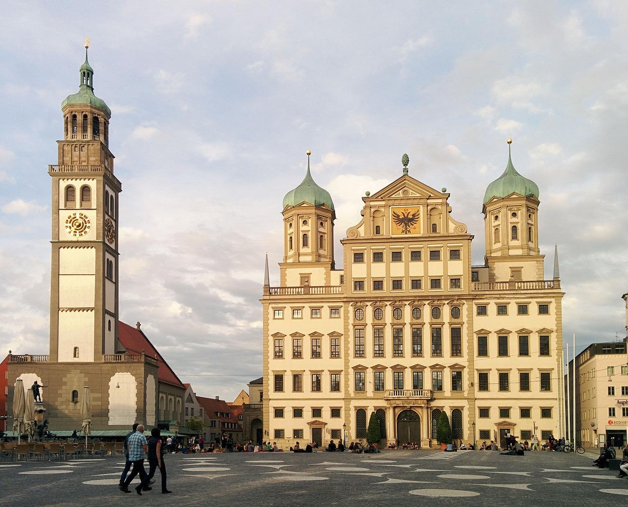 церква в Аугсбурзі (Augsburg)