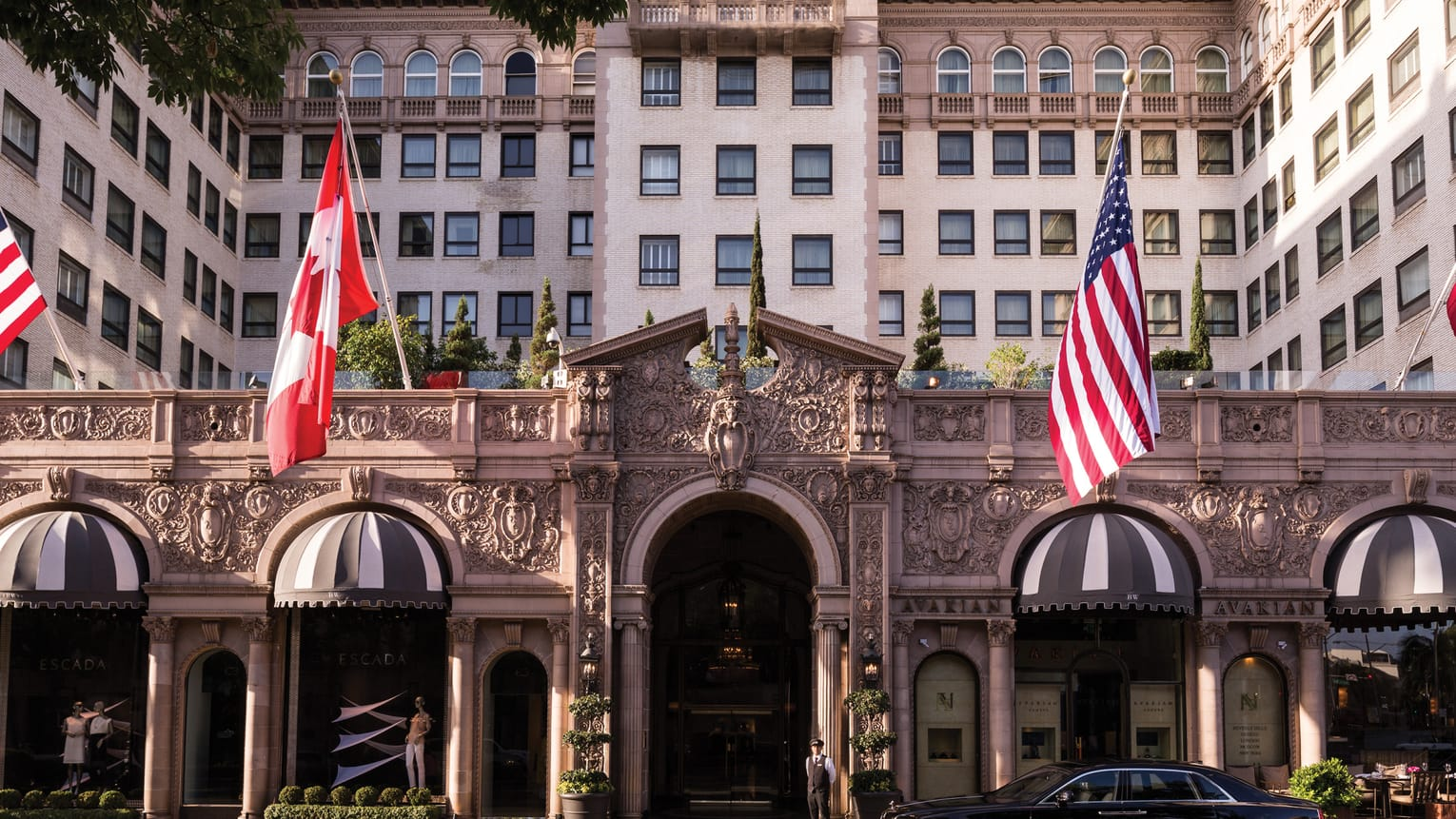 The Beverly Wilshire Hotel, Beverly Hills, Los Angeles, USA
