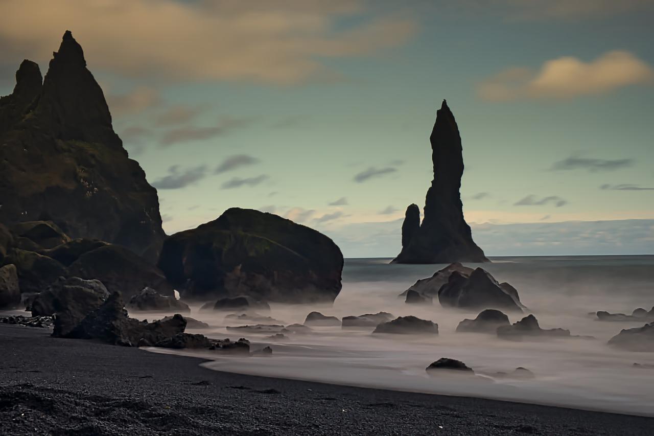 пляж біля селища Вік, Ісландія