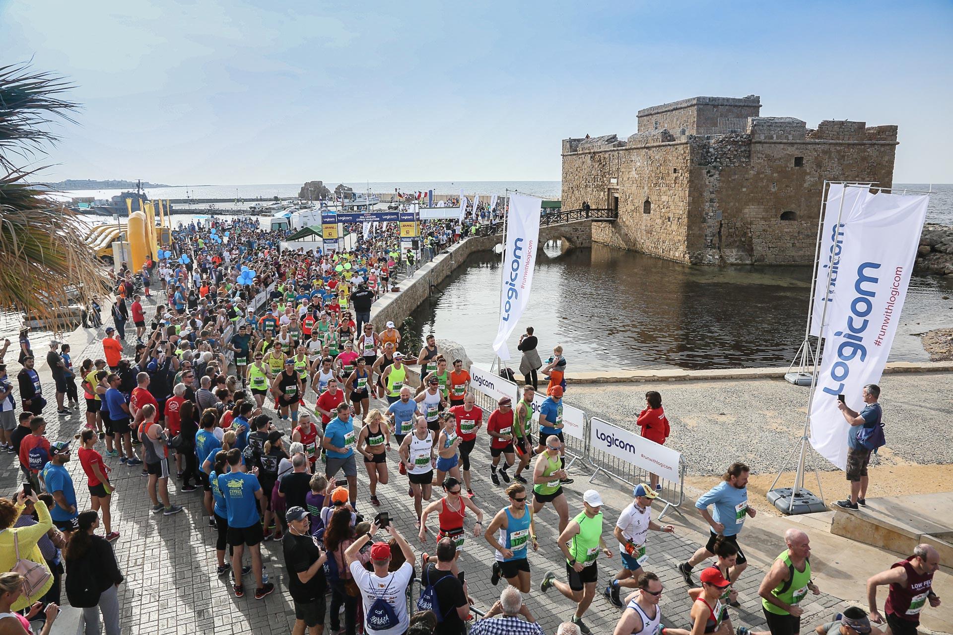 21-й Logicom Cyprus Marathon, Пафос, Кіпр
