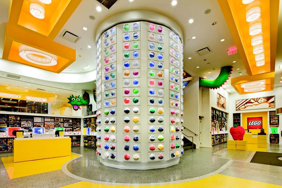 The Lego Store, Нью-Йорк