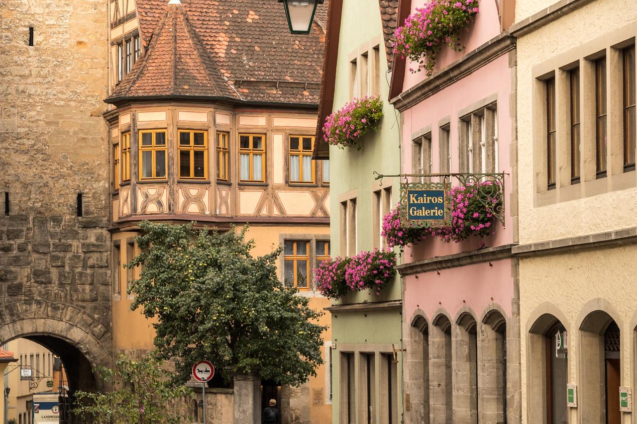 вулиця в німецькому місті