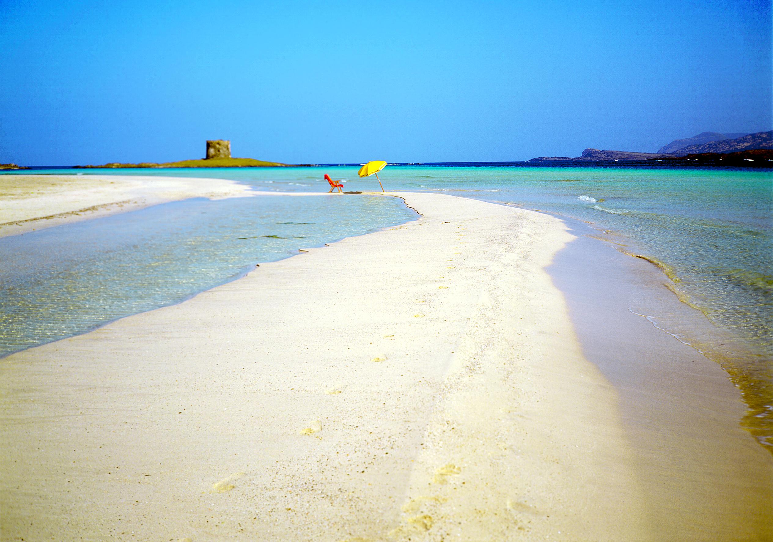 пляж пісок курорт сардінія італія