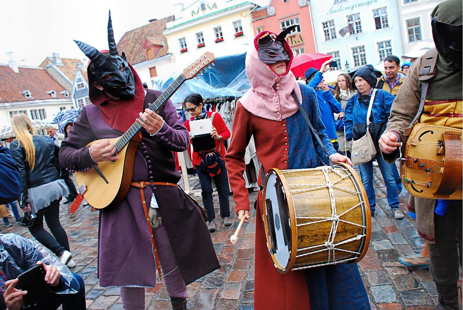 середньовіччя таллін подія свято
