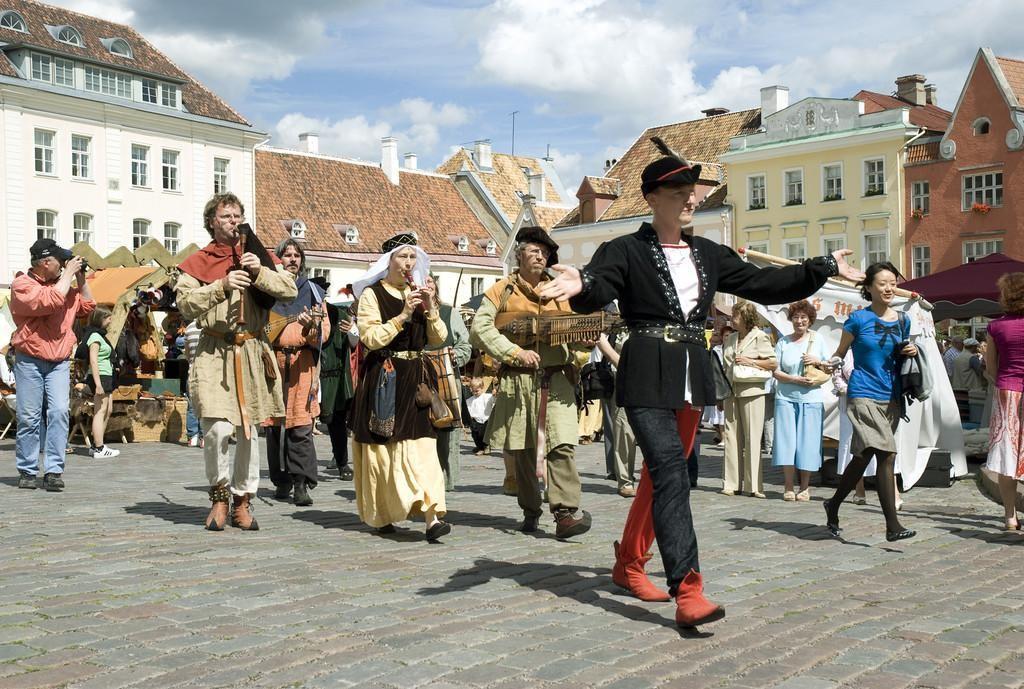 таллін дні старого города подія мандри