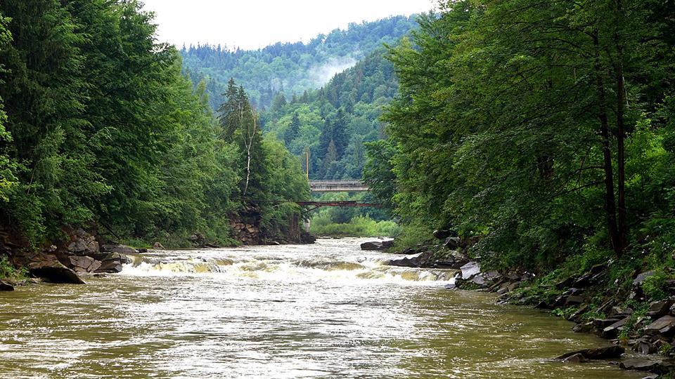 Горна річка